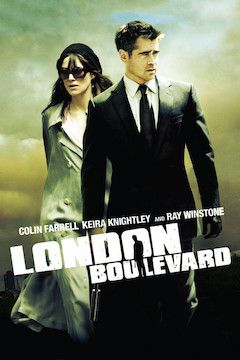 Poster for the movie London Boulevard