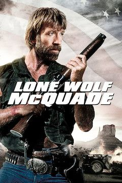 Lone Wolf McQuade movie poster.