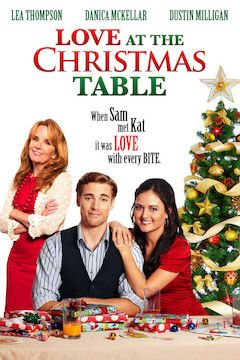 Love at the Christmas Table movie poster.