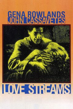 Love Streams movie poster.