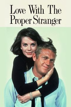 Love With the Proper Stranger movie poster.
