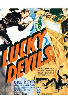 Lucky Devils movie poster.