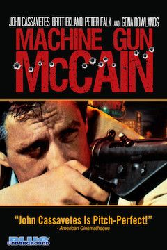 Machine Gun McCain movie poster.