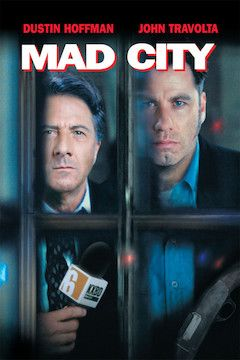 Mad City movie poster.