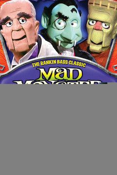 Mad Monster Party movie poster.