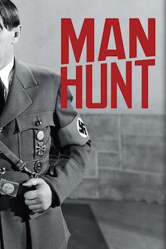 Man Hunt movie poster.