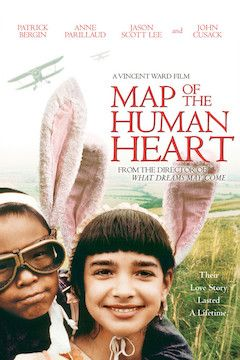 Map of the Human Heart movie poster.