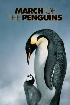 Poster for the movie March of the Penguins