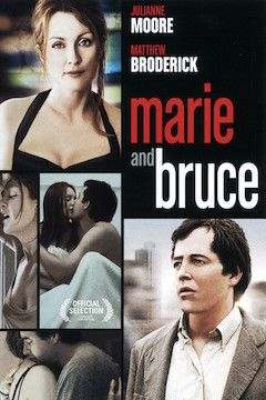 Marie and Bruce movie poster.