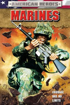 Marines movie poster.