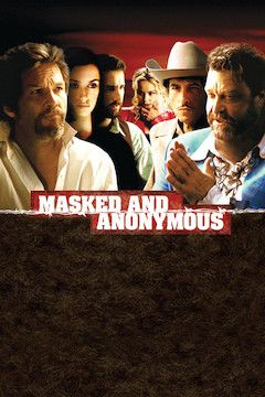 Masked and Anonymous movie poster.