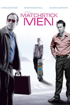 Matchstick Men movie poster.