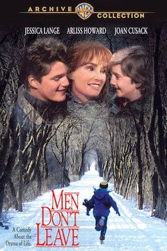 Men Don't Leave movie poster.