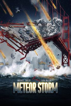 Meteor Storm movie poster.