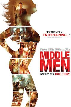 Middle Men movie poster.
