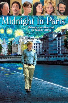 Midnight in Paris movie poster.