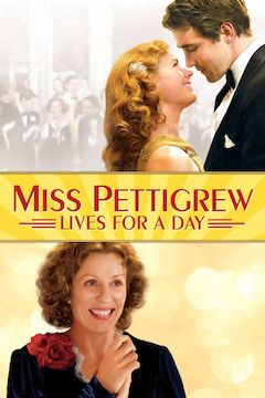 Miss Pettigrew Lives for a Day movie poster.