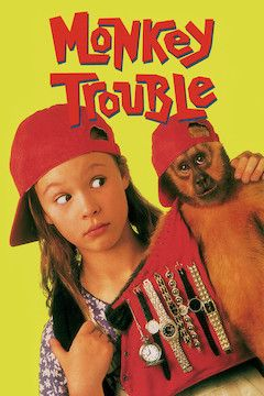 Monkey Trouble movie poster.