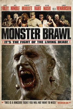 Monster Brawl movie poster.