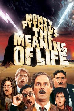 Monty Python's the Meaning of Life movie poster.
