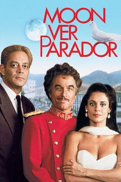 Moon Over Parador movie poster.