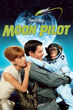 Moon Pilot movie poster.