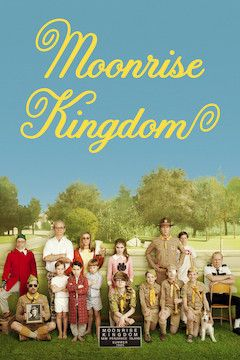 Moonrise Kingdom movie poster.