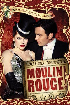 Moulin Rouge! movie poster.