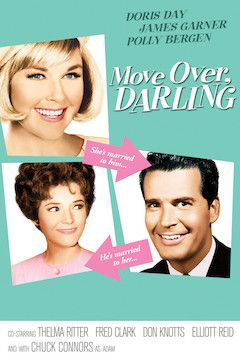 Move Over, Darling movie poster.