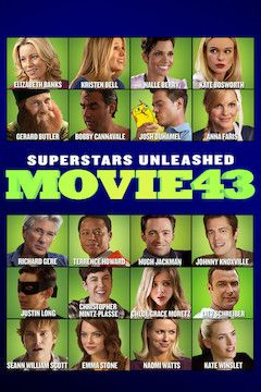 Poster for the movie Movie 43