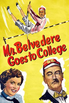 Mr. Belvedere Goes to College movie poster.