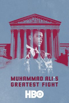 Muhammad Ali's Greatest Fight movie poster.
