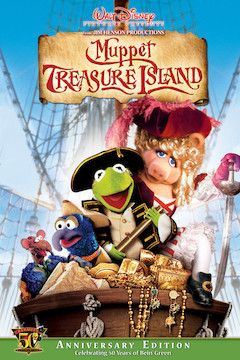 Muppet Treasure Island movie poster.