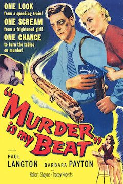 Murder Is My Beat movie poster.