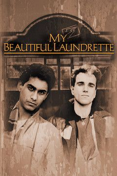 My Beautiful Laundrette movie poster.