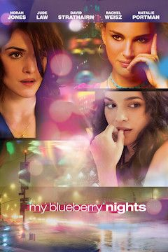My Blueberry Nights movie poster.