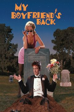 My Boyfriend's Back movie poster.