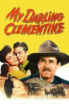 My Darling Clementine movie poster.