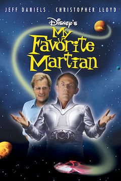My Favorite Martian movie poster.
