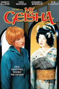Poster for the movie My Geisha