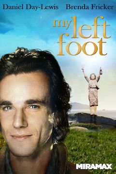 My Left Foot movie poster.