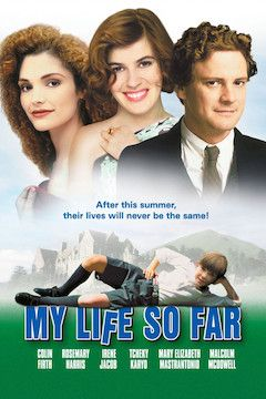 Poster for the movie My Life So Far