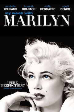 My Week With Marilyn movie poster.