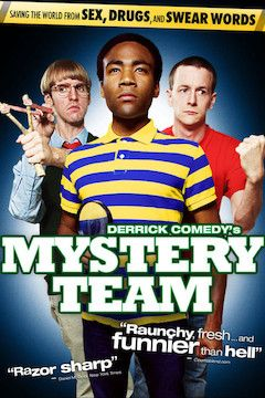 Mystery Team movie poster.