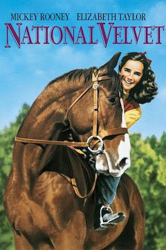 National Velvet movie poster.
