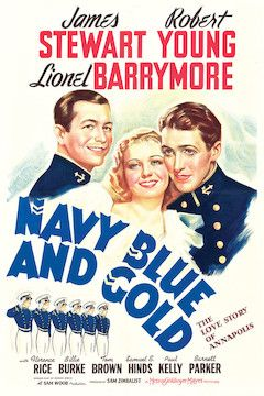 Navy Blue and Gold movie poster.