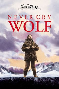 Never Cry Wolf movie poster.