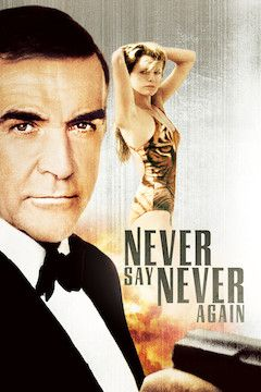 Never Say Never Again movie poster.