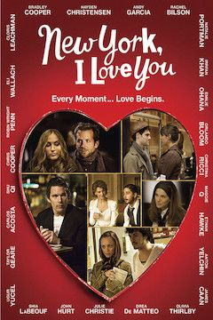 New York, I Love You movie poster.