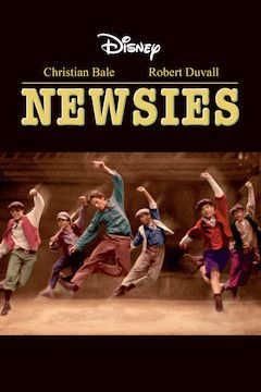 Newsies movie poster.